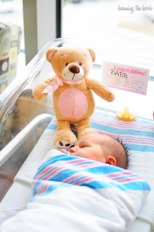 beba u bolnici
