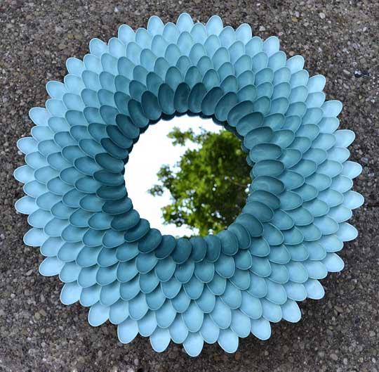 chrysanthemum-mirror