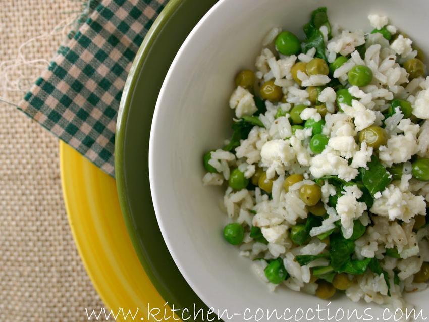 riža s povrćem