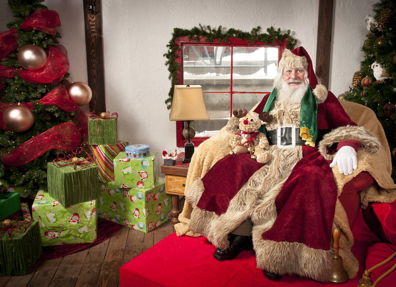 fotografisanje sa Deda Mrazom