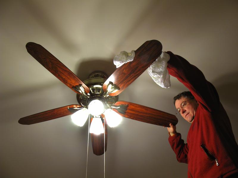 čišćenje ventilatora