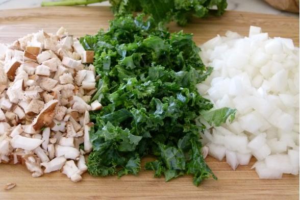 riza sa gljivama i zelenisom 2