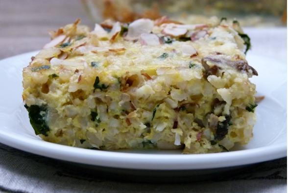 riza sa gljivama i zelenisom 3