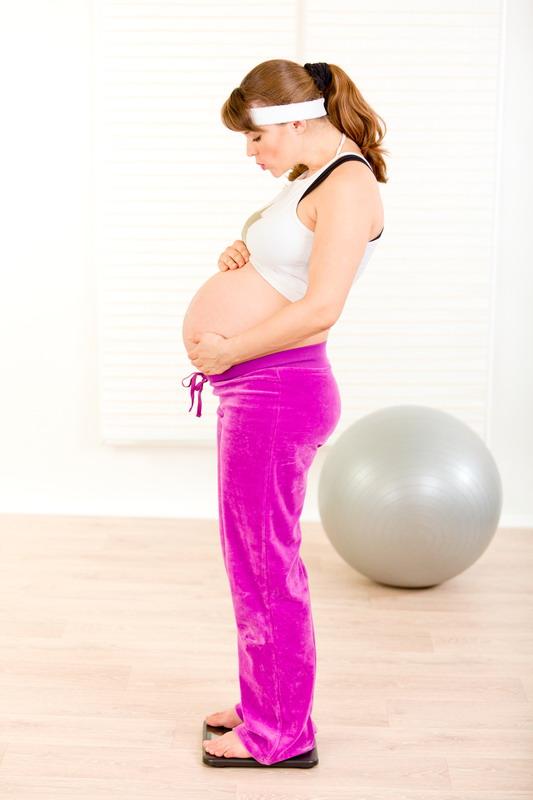 trudnica vezba vaga