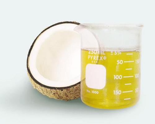 kokos i ulje u staklenki