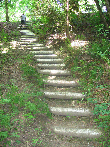 stepenice vezbanje trcanje 2