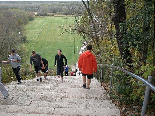 stepenice vezbanje trcanje