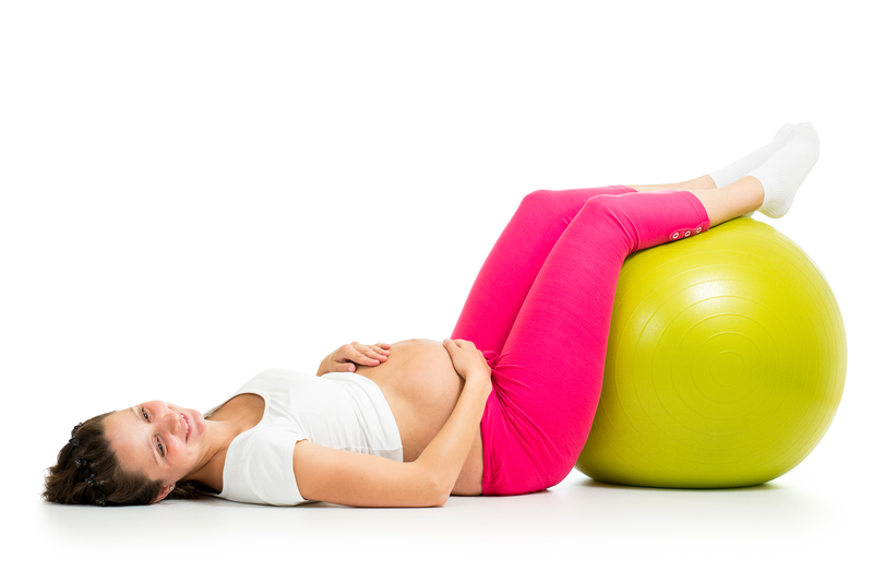 http://www.dreamstime.com/stock-image-pregnant-woman-gymnastic-fit-ball-excercises-bal-image34123311