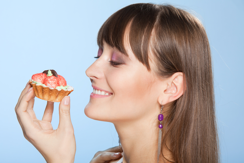 http://www.dreamstime.com/royalty-free-stock-photo-happy-woman-tart-cake-image17362125