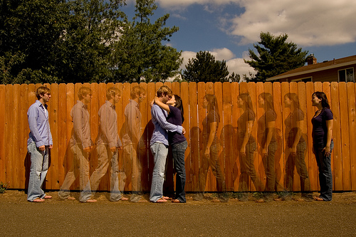 ljubav par ograda