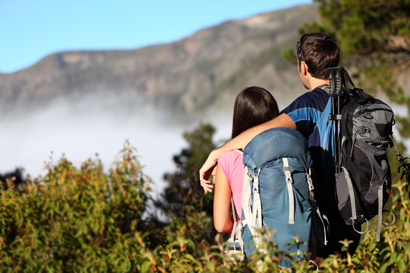http://www.dreamstime.com/stock-photos-couple-hiking-looking-view-image19530813
