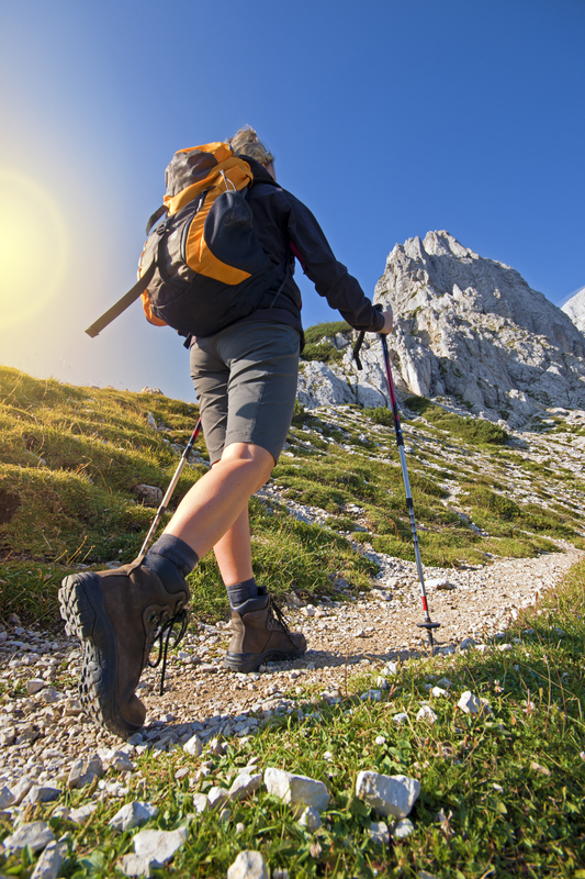 http://www.dreamstime.com/royalty-free-stock-images-hiking-young-woman-sunny-day-high-mountains-image33236769