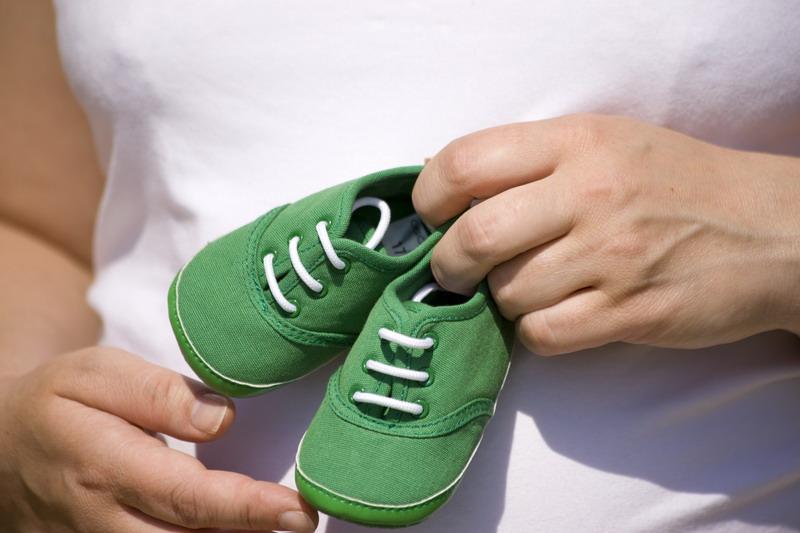 bebi patike zelene