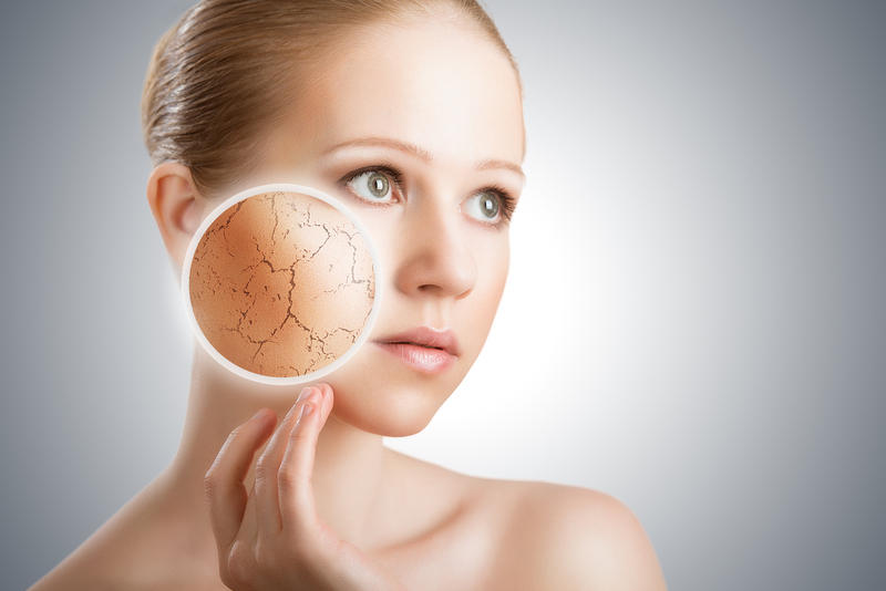 http://www.dreamstime.com/stock-image-concept-cosmetic-effects-treatment-skin-care-face-young-woman-dry-skin-image30260251