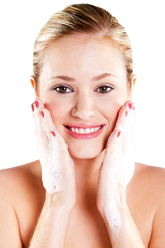 http://www.dreamstime.com/royalty-free-stock-photos-woman-washing-face-image19789518