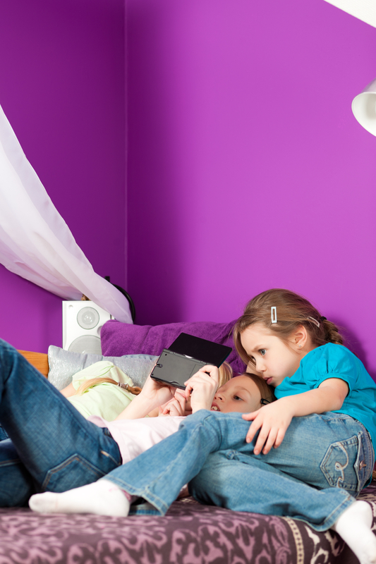 http://www.dreamstime.com/stock-image-children-playing-video-games-image19043881