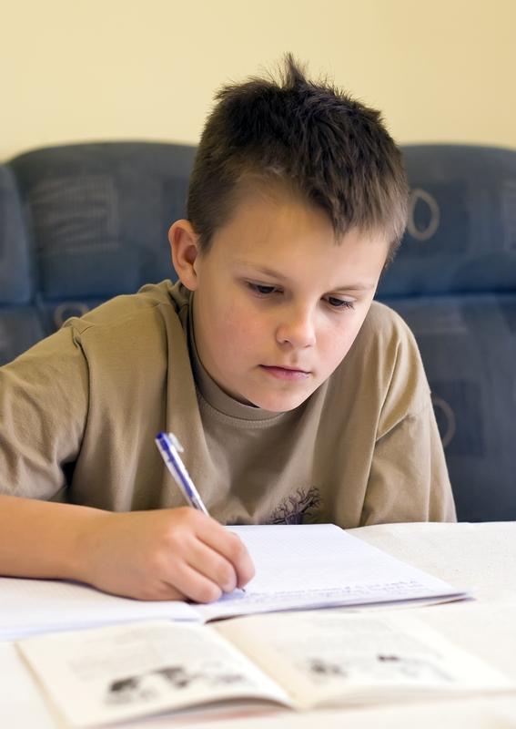 http://www.dreamstime.com/stock-photo-teenage-boy-doing-homework-image3605960