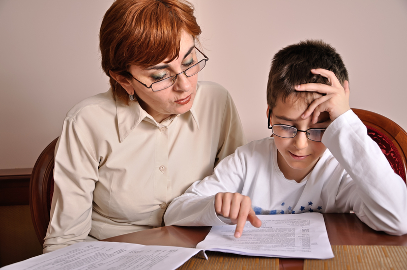 http://www.dreamstime.com/royalty-free-stock-photography-woman-boy-doing-homework-helping-young-schoolboy-to-do-his-image39363007