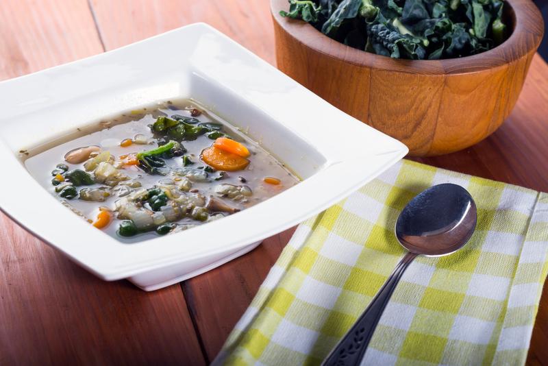 http://www.dreamstime.com/royalty-free-stock-photos-white-bean-kale-soup-vegetable-image39956298